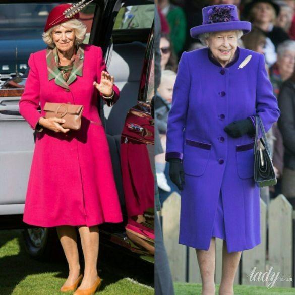 Герцогиня Корнуольская и королева Елизавета II