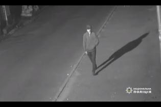 Покушение на тернопольского ректора: полиция обнародовала видео с подозреваемым