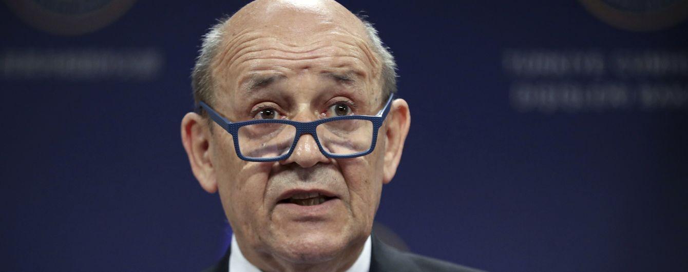 """Голова МЗС Франції оголосив про бажання відновити """"плідну роботу"""" з Росією"""