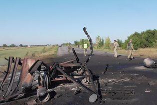 На Запоріжжі під час передислокації військової частини прогримів вибух