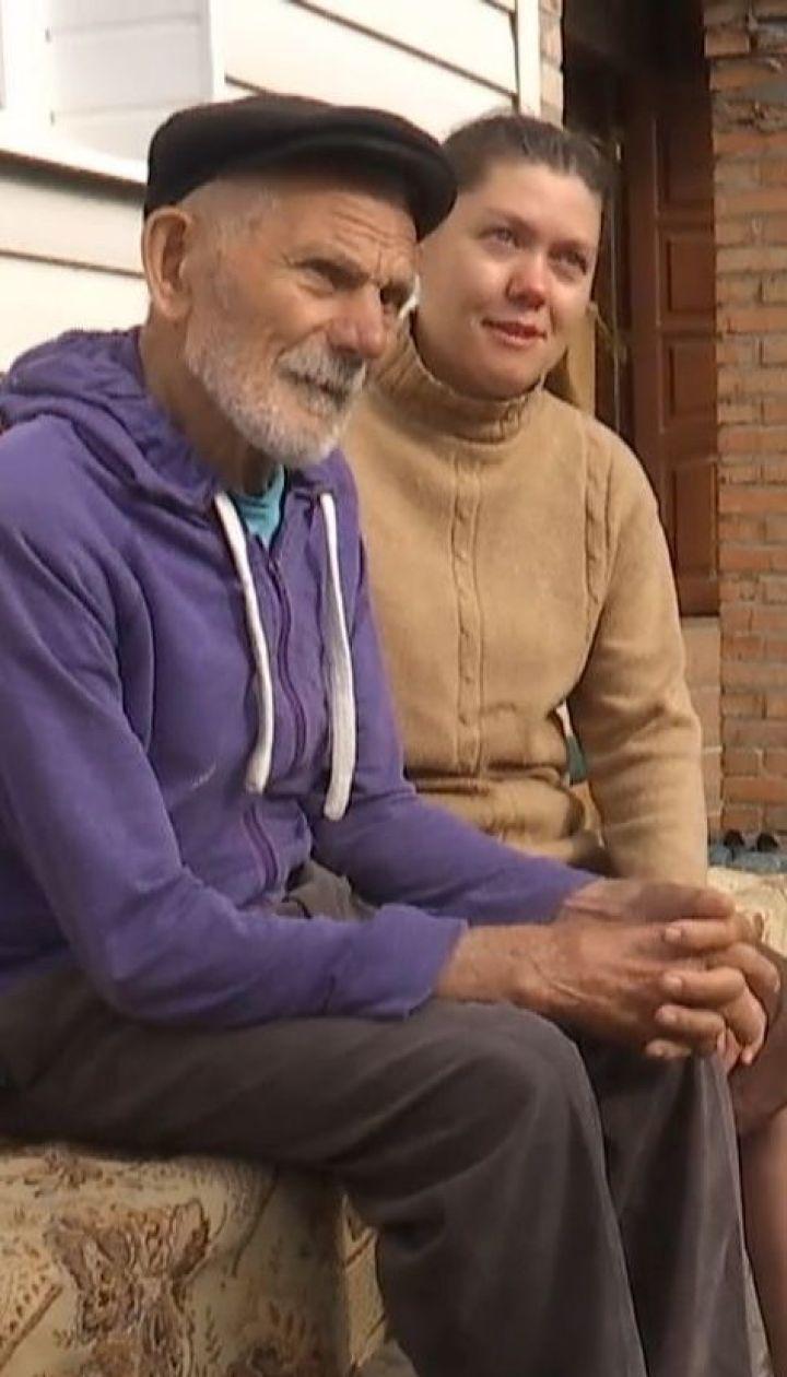 Небайдужа жителька Луцька прихистила 90-річного дідуся-безхатька
