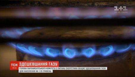 Газ подешевеет для населения еще на 115 гривен - Андрей Герус