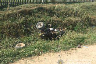 На Буковине в ДТП погиб 8-летний водитель квадроцикла