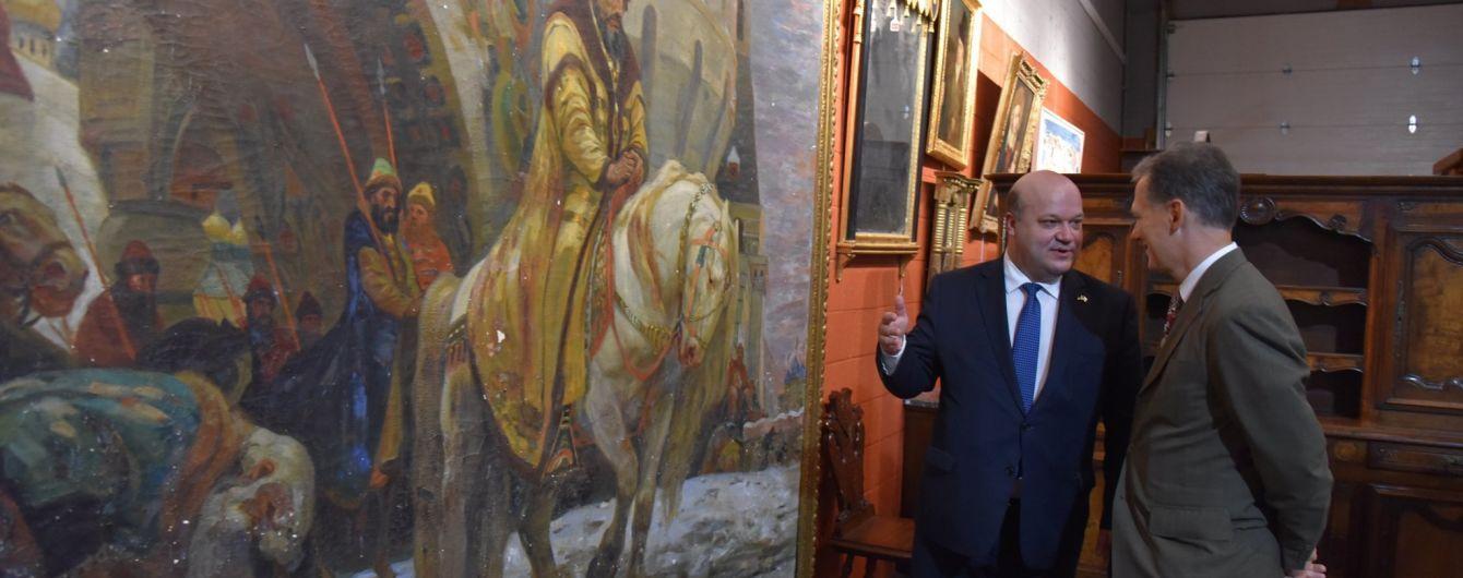 До України повернули картину, яку нацисти вивезли під час німецької окупації
