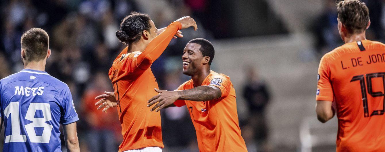 Отбор на Евро-2020: Германия обыграла Северную Ирландию, Нидерланды не заметили Эстонию