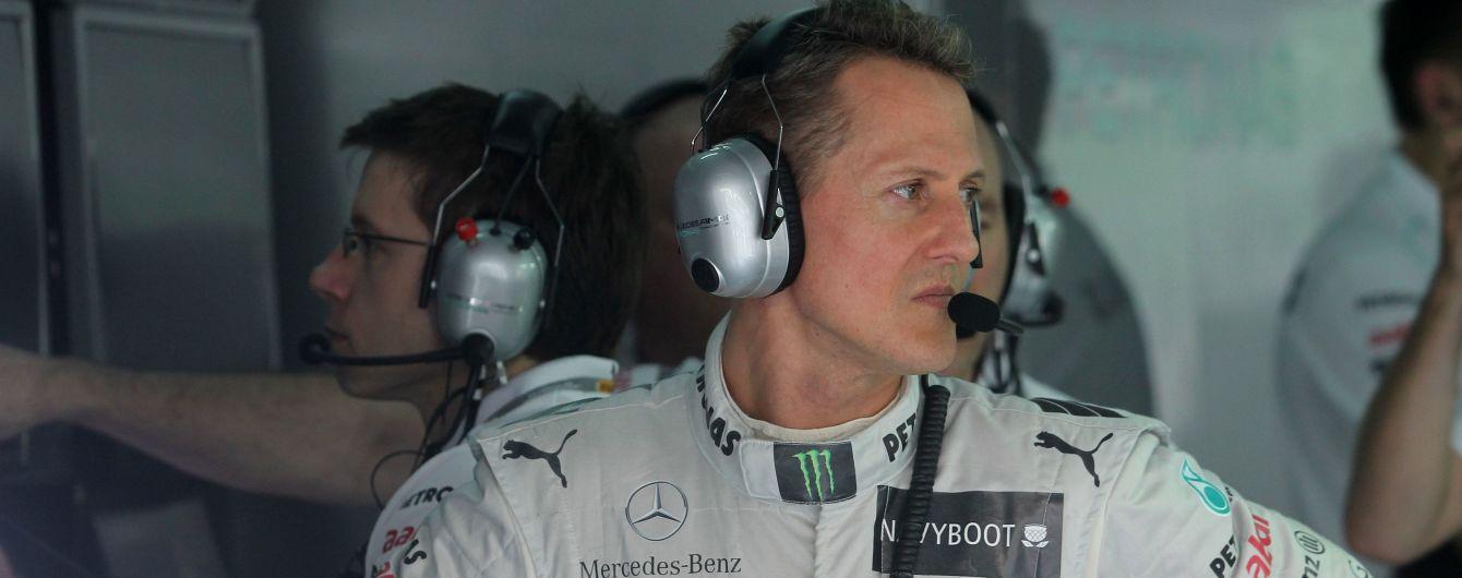 Шумахер тайно госпитализирован в парижскую клинику для операции