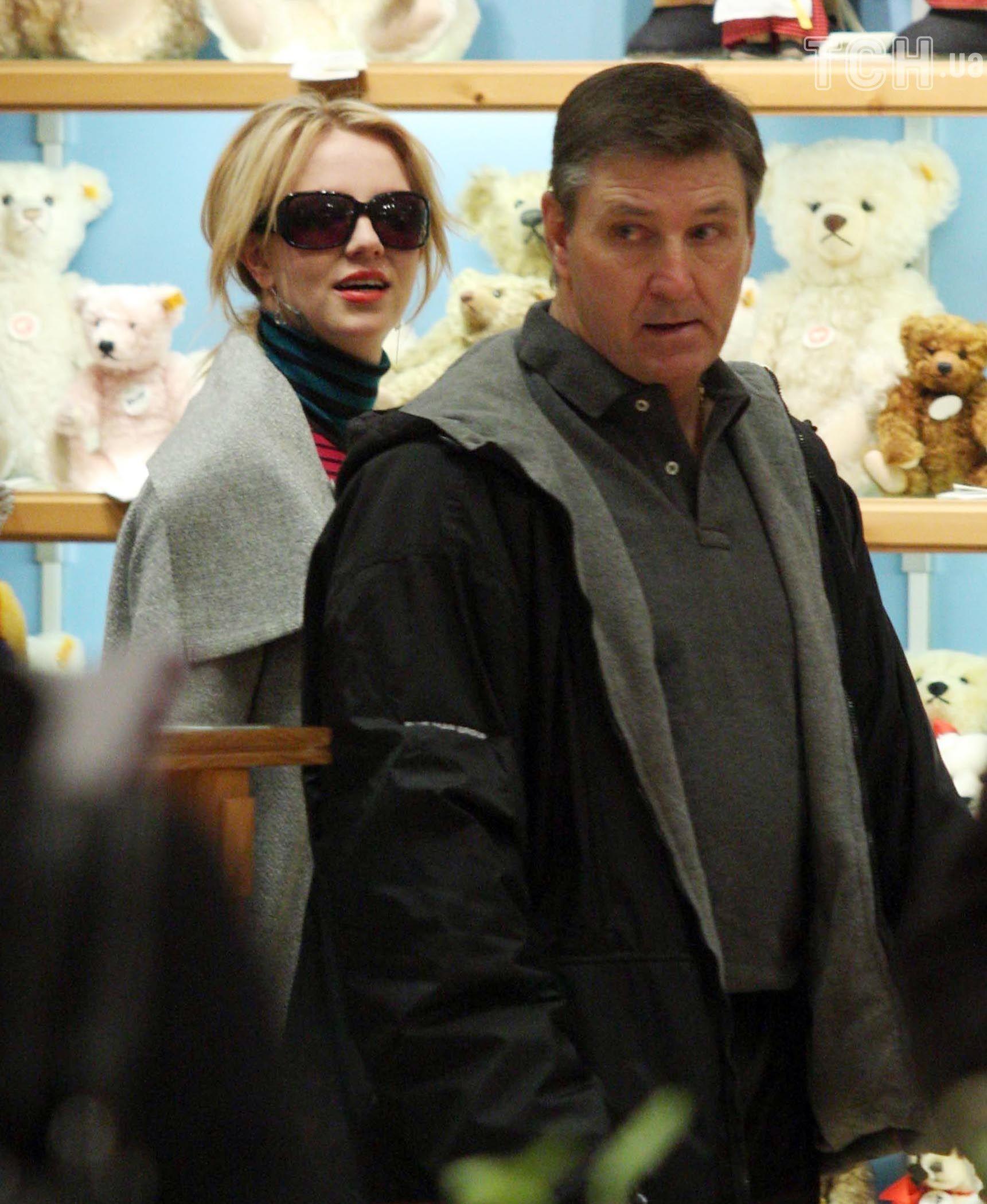 Брітні Спірс з батьком