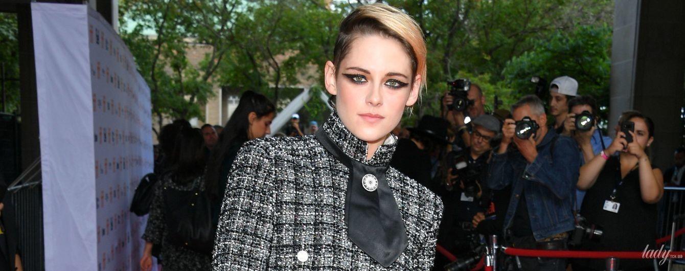 Вся в Chanel: эффектный выход Кристен Стюарт на красную дорожку в Торонто