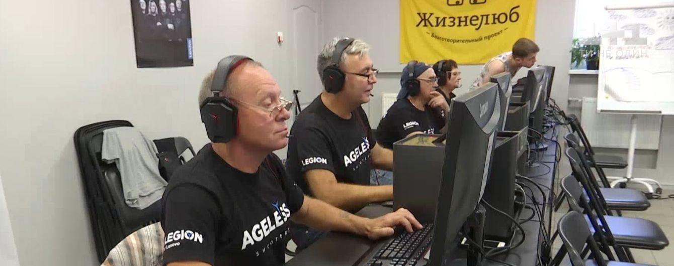 В Киеве геймеры почтенного возраста готовятся к международной битве в Counter Strike