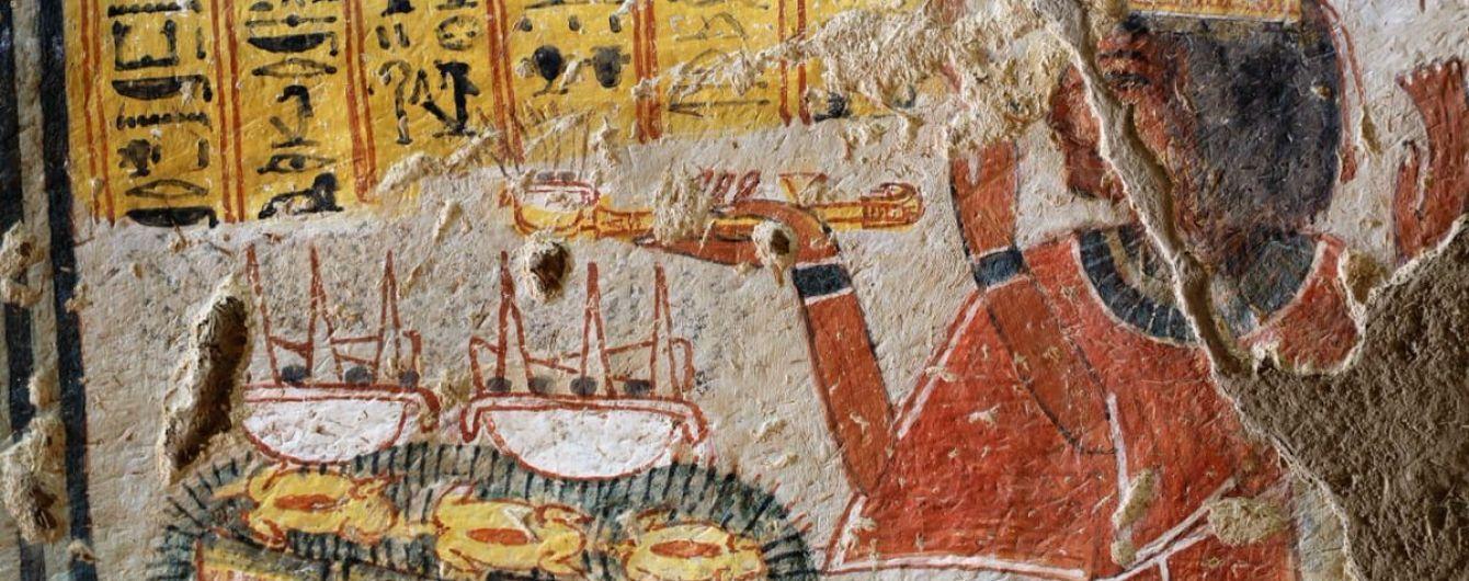 В Египте открыли две отреставрированные древние гробницы