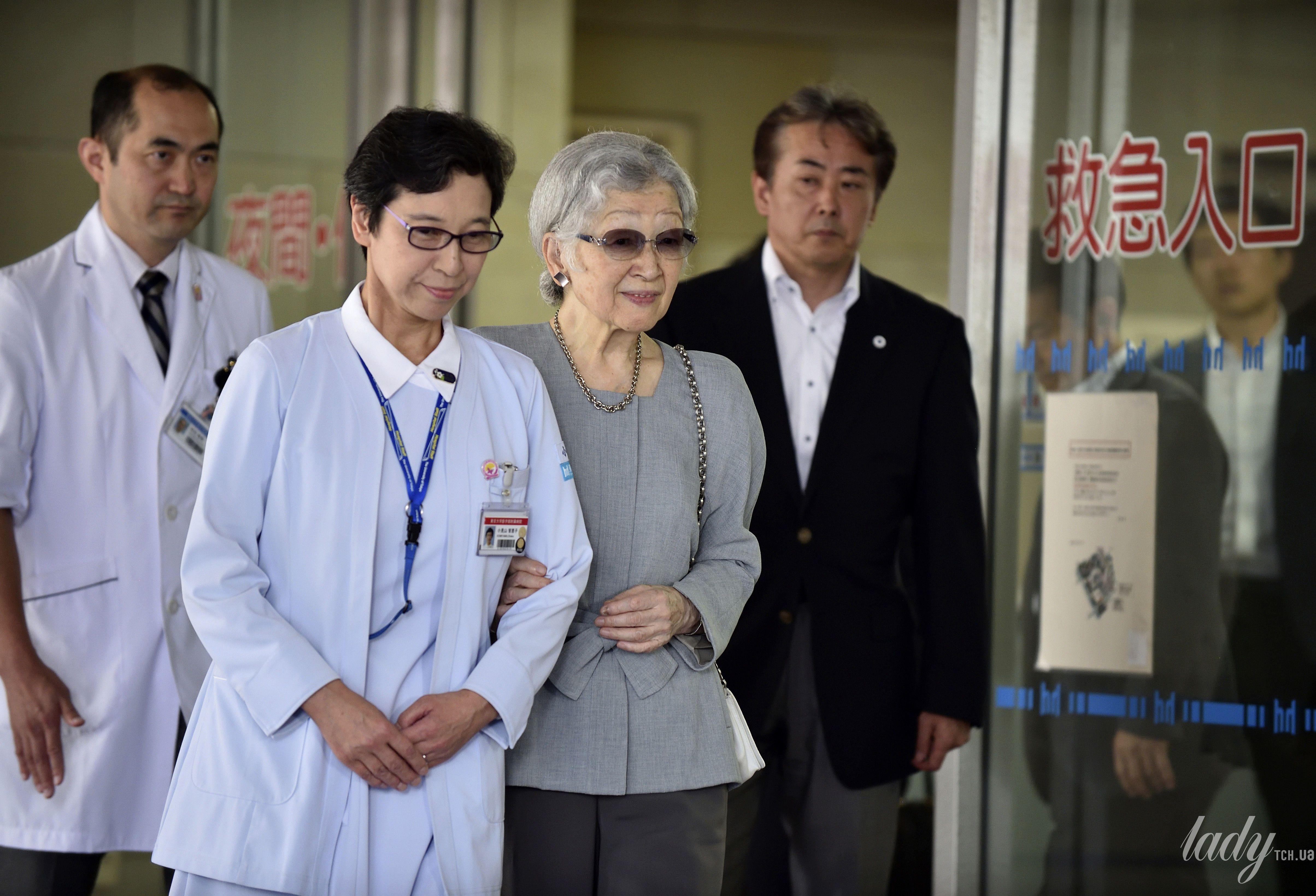 Почетная императрица Японии Митико_2