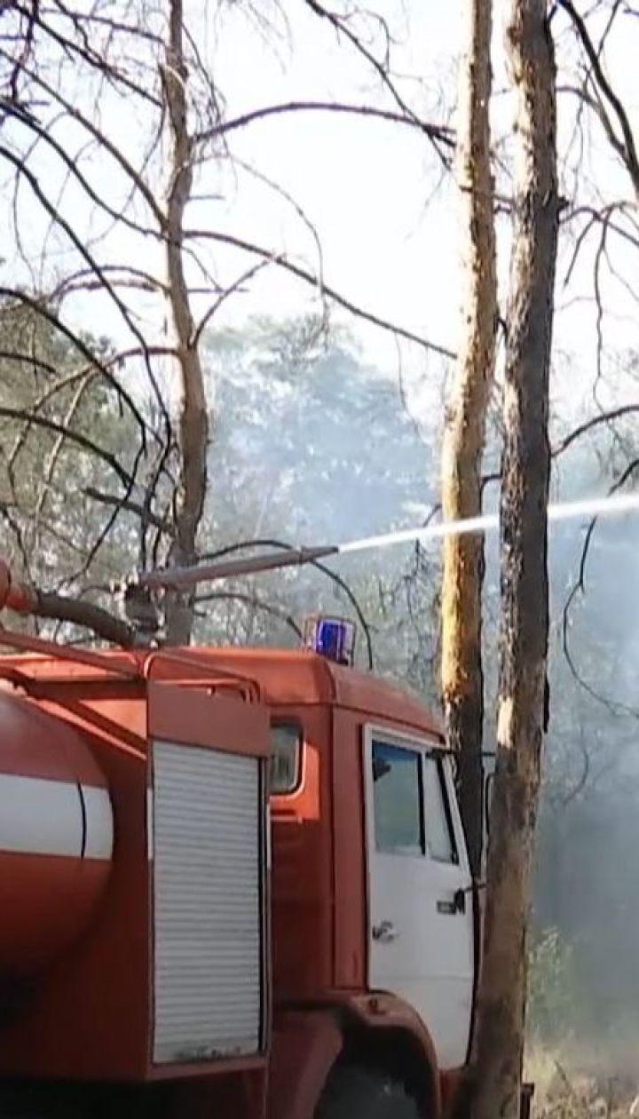 Украина в огне: в большинстве регионов царит высокий уровень пожарной опасности