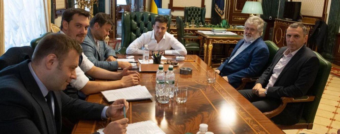 Президент Зеленский встретился с бизнесменом Коломойским. О чем говорили