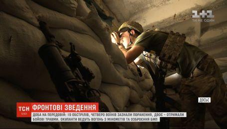 Боевики 19 раз стреляли по позициям ВСУ: четверо воинов получили ранения