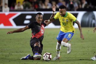 Сборная Перу прервала длительную беспроигрышную серию Бразилии