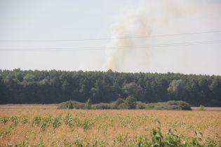 В Калиновке на военных складах прогремели новые взрывы