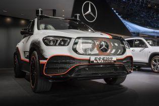 Mercedes представил кроссовер GLE с автопилотом