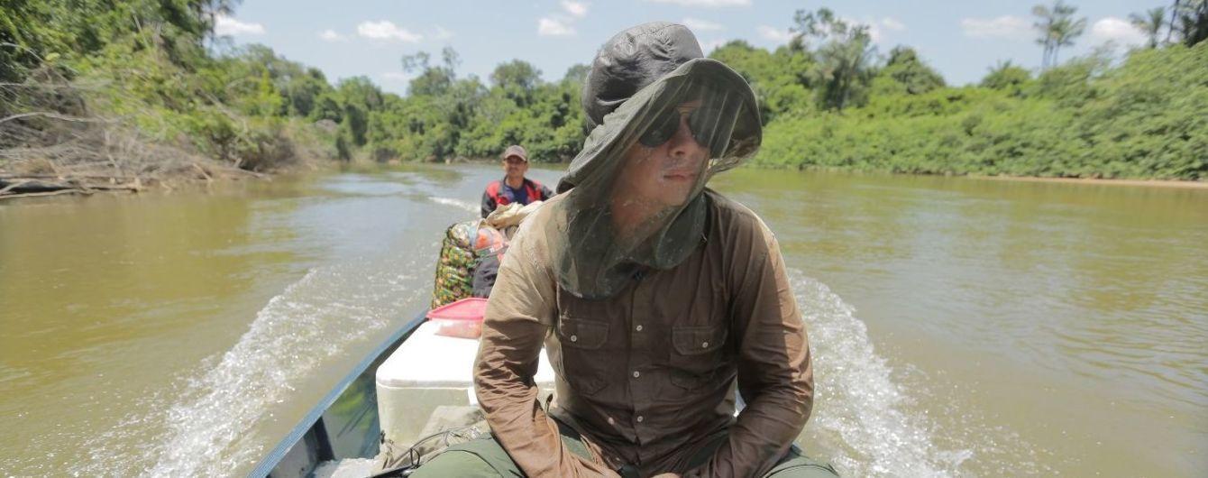 Дмитро Комаров став першим журналістом, який потрапив до дикого амазонського племені Яномамі