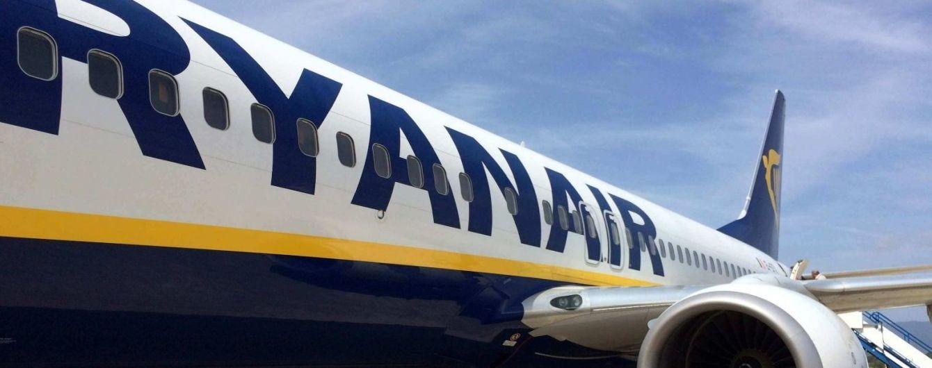 Ryanair зменшує частоту польотів до Італії через коронавірус