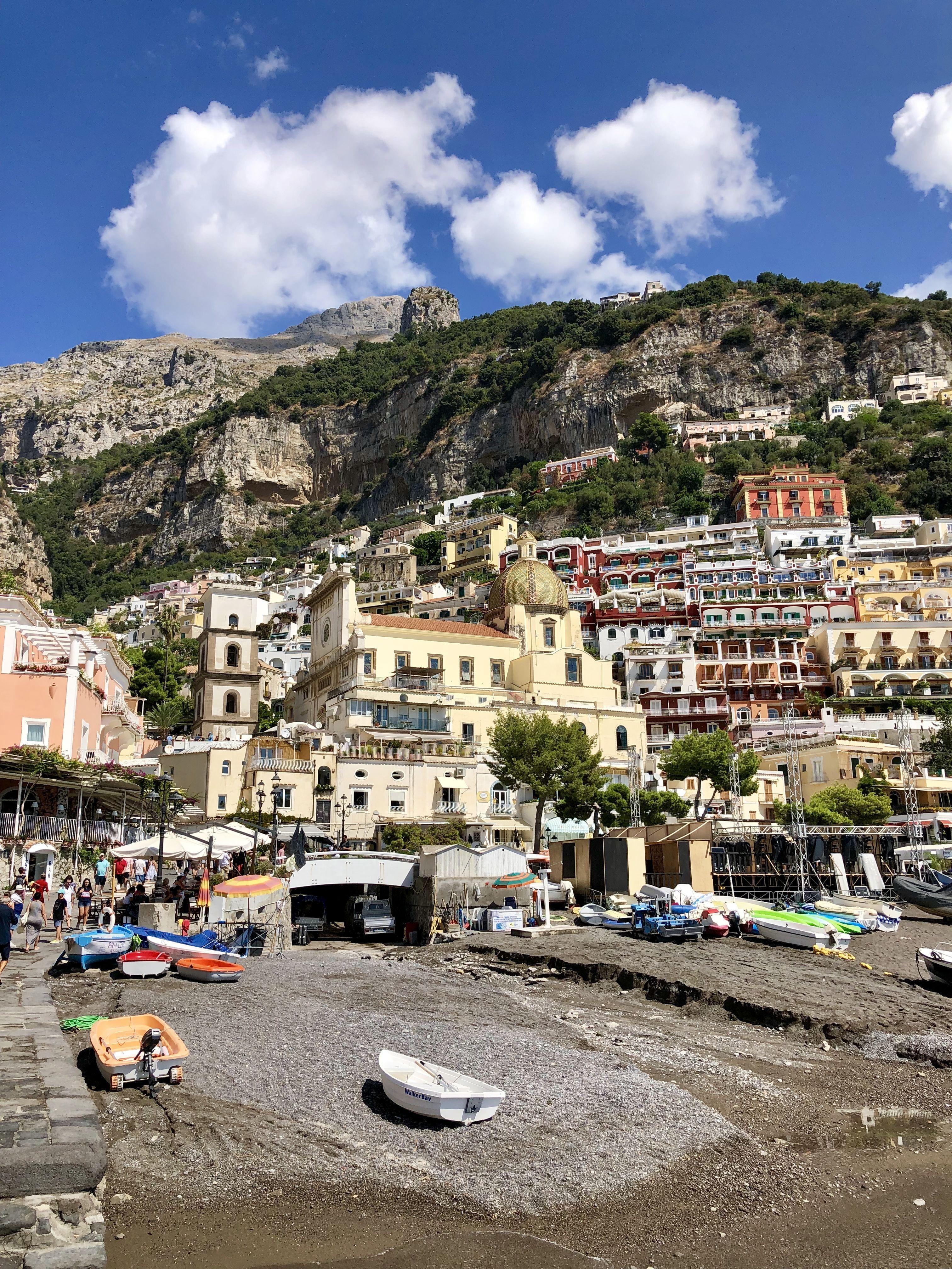 Позітано, Італія, для блогів