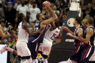 Баскетбольная сборная США впервые с 2002 года не сумела выйти в полуфинал Чемпионата мира