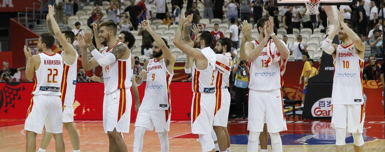 Определились имена полуфиналистов Чемпионата мира по баскетболу