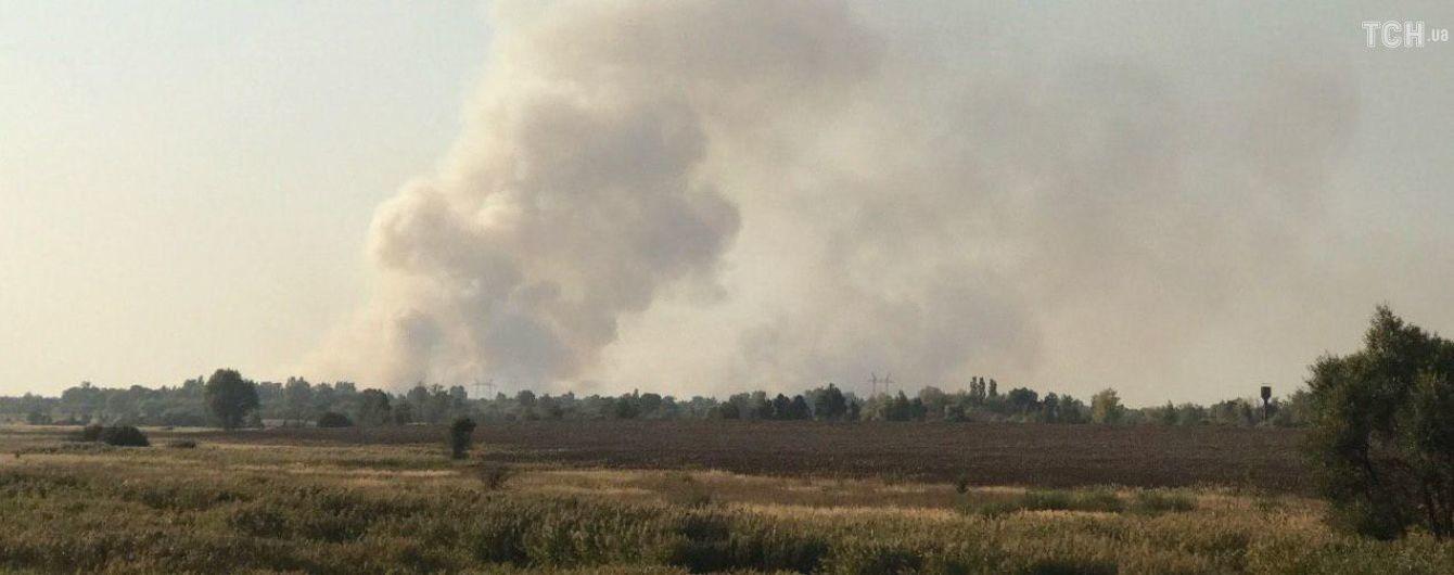 У Чорнобильській зоні загорівся ліс: до гасіння залучили авіацію