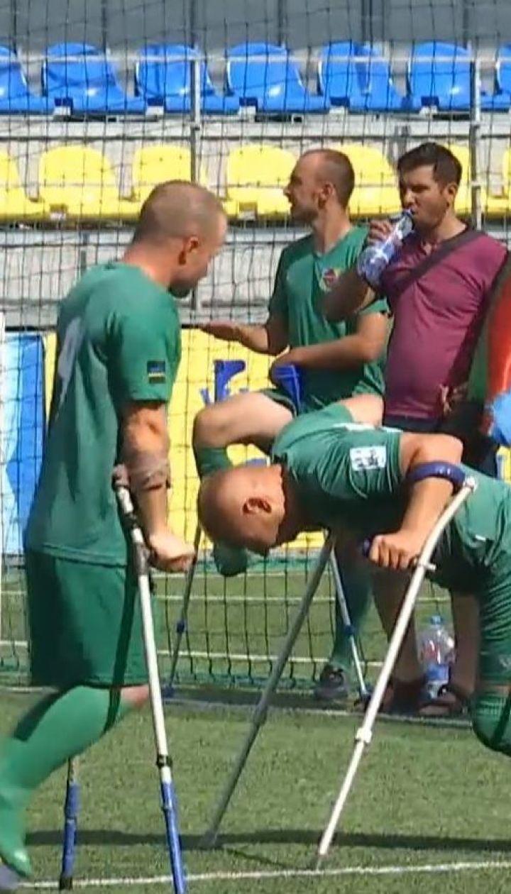 Футбол на милицях: ветерани з Азербайджану й України зіграли матч