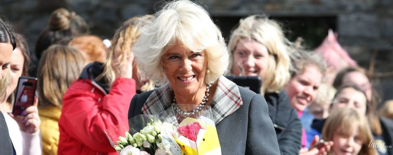 Ах, какая красавица: герцогиня Корнуольская на мероприятии в Шотландии