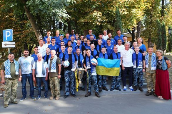 Динамо з моряками