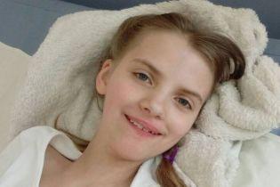Ганна отримала важкі ускладнення після кору і їй потрібна тривала реабілітація