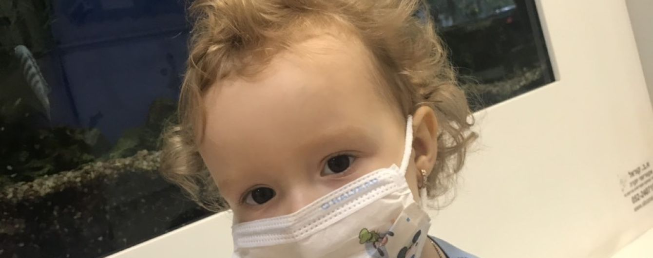 Маленька Даринка з Дніпра потребує негайної допомоги