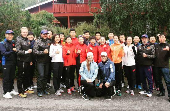 Бйорндален і Домрачева очолили збірну Китаю з біатлону
