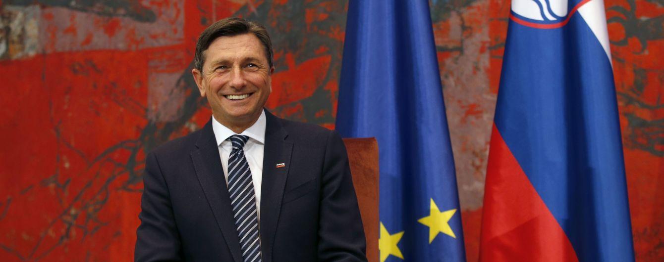 """Словенская интеллигенция призвала президента подать в отставку после слов об """"особом статусе"""" для Украины в ЕС"""