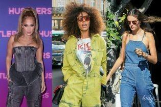 Выбираем лучший лук: Джей Ло, Тина Кунаки и Моника Беллуччи в джинсовых комбинезонах