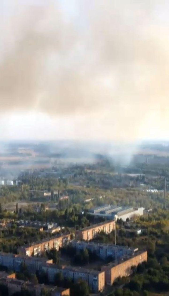 Из-за пожаров на торфяниках и свалках киевляне страдают от задымления