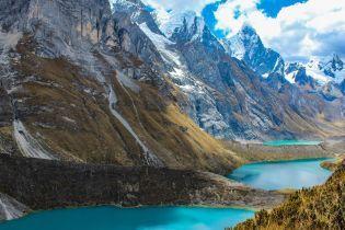 Фото американской пары тревел-блогеров над пропастью в Перу вызвало фурор в в Instagram