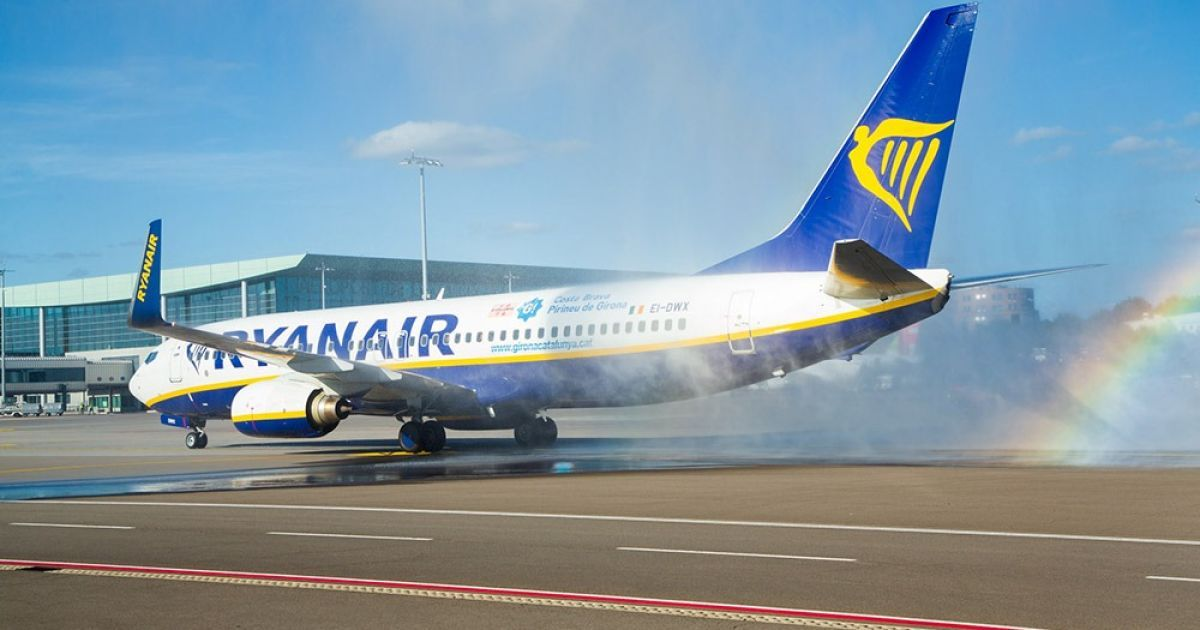 Ryanair відкриває рейс з Херсона до Катовіце