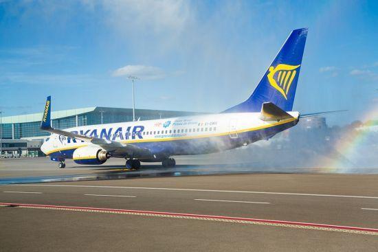 """Ryanair анонсував """"рятувальний тариф"""" за маршрутом Київ-Краків"""