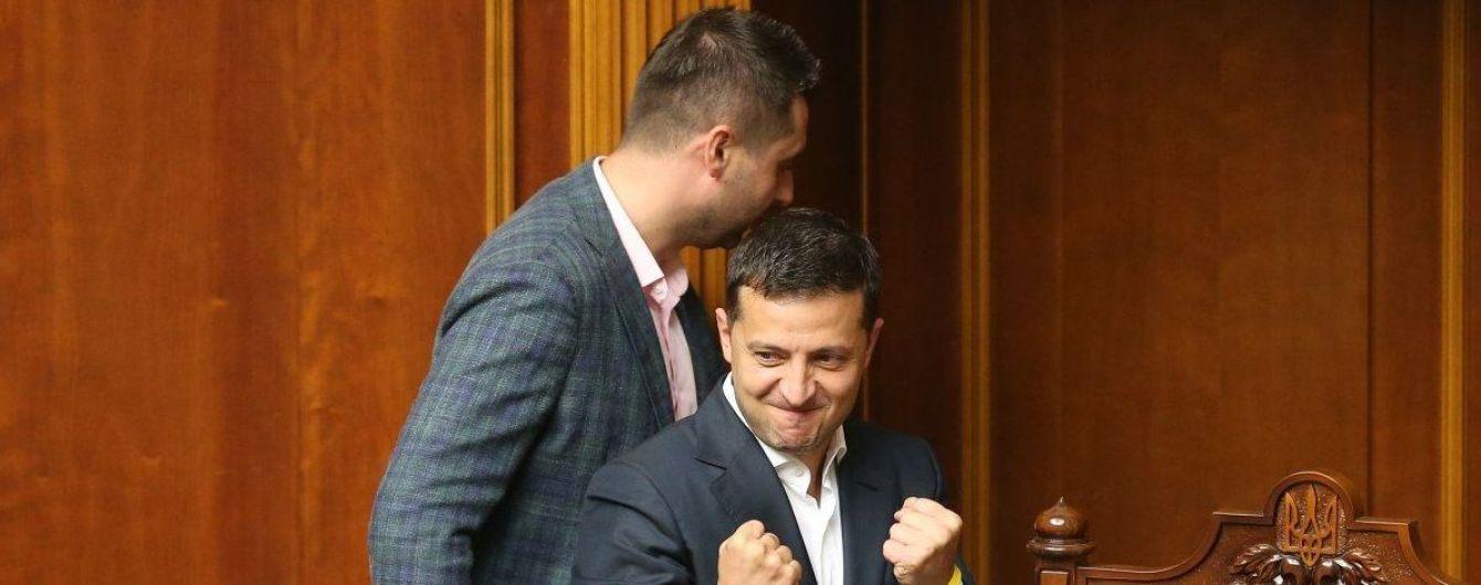 """Во фракции """"Слуги народа"""" составили список 35 потенциальных кандидатов в ЦИК"""