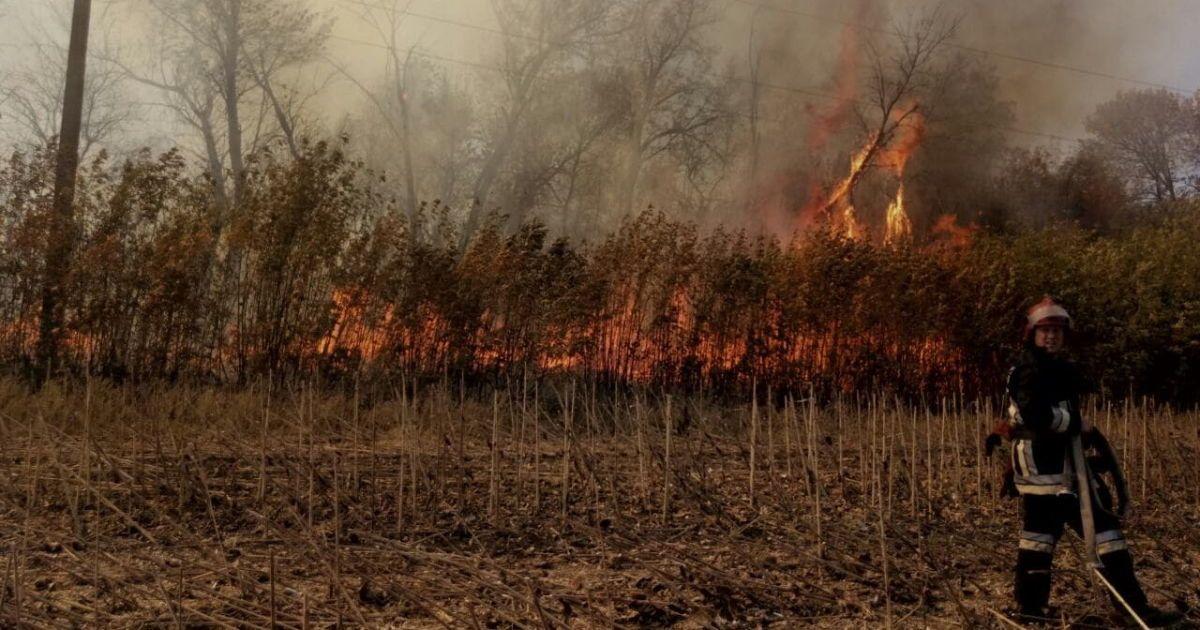 Последствия пожаров на Харьковщине @ Управление ГСЧС в Харьковской области