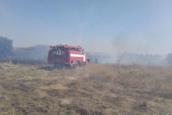 В Чугуеве пожар на военном полигоне: власти отменили занятия в нескольких учебных заведениях