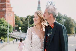 Ксения Собчак опубликовала первые свадебные снимки