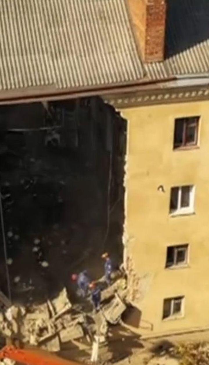 Дом в Дрогобыче обвалился из-за особенностей возведения - эксперты