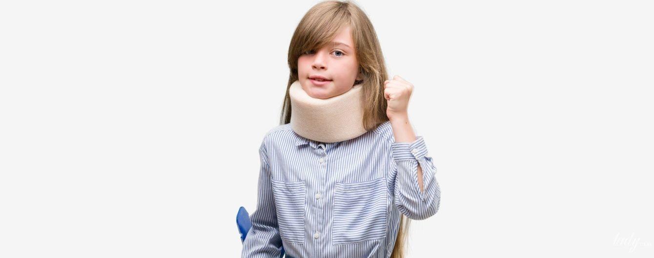 Підвивих шийного хребця у дітей: чому стається і як його лікувати