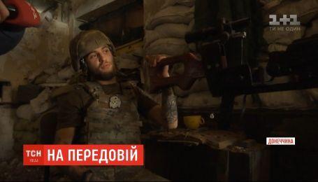 Гранатометы, танк и дым - оккупанты используют против наших защитников разнообразное оружие