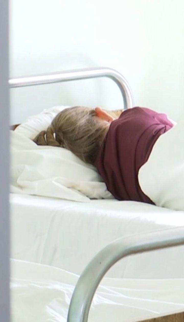 8 детей попали в больницу с признаками отравления неизвестным веществом в Мукачево