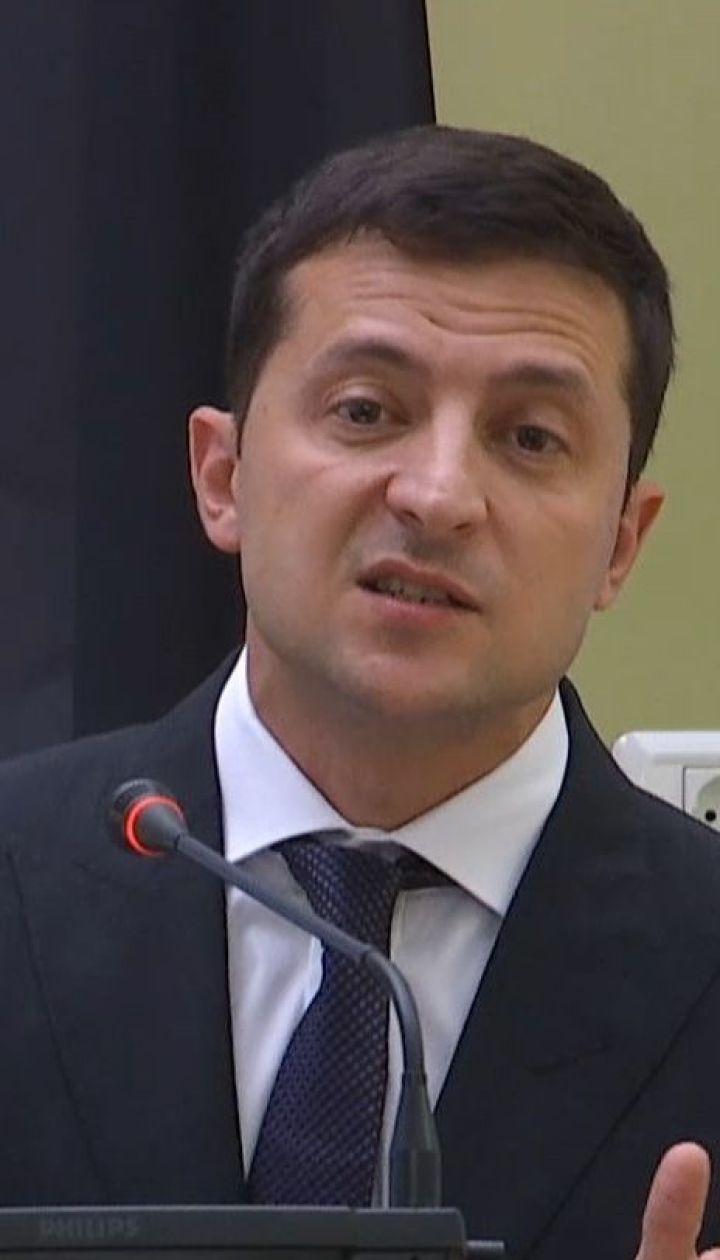 Вибори на окупованій частині Донбасу можуть бути лише за українським законодавством - Зеленський