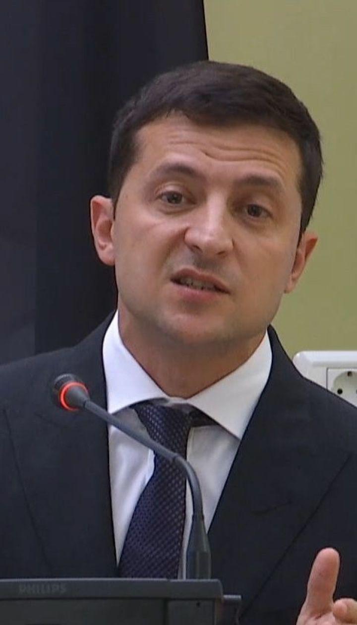 Выборы на оккупированной части Донбасса могут быть только по украинскому законодательству - Зеленский