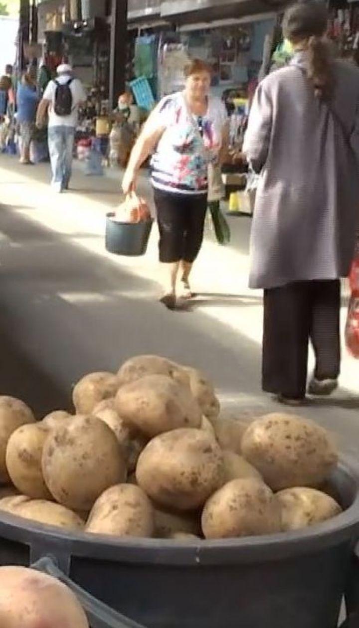 Здорожчала удвічі: ТСН порівняла ціни на картоплю у різних містах України